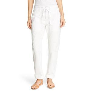 Alex Mill White Drawstring Ripstop Cotton Pants M